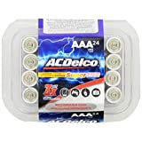 ACDelco AAA Super Alkaline Batteries, 24-Count