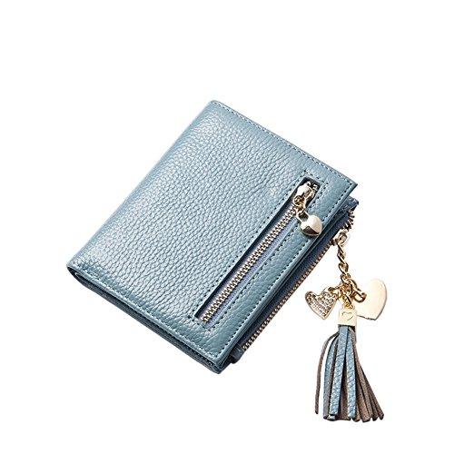 Piccolo Portafoglio per Donna formato verticale Portafoglio super-compatto tasche carte di