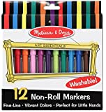 Melissa & Doug Non-Roll Markers