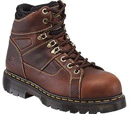 Dr. Martens Ironbridge Safety Toe Boot,Teak,9 UK/11 M US Women\'s/10 M US Men\'s