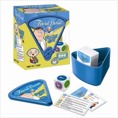 Usaopoly Family Guy Trivia Pursuit (Travel Play Edition)