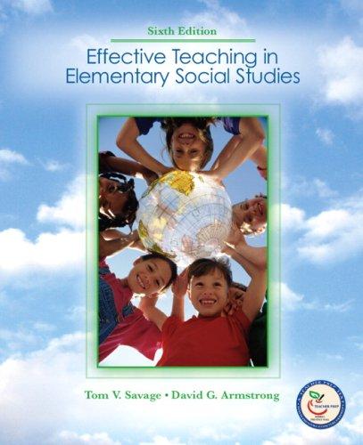 Effective Teaching in Elementary Social  Studies (6th...