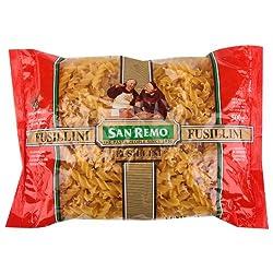 San Remo Fusillini, Durum Wheat Pasta, 500gm