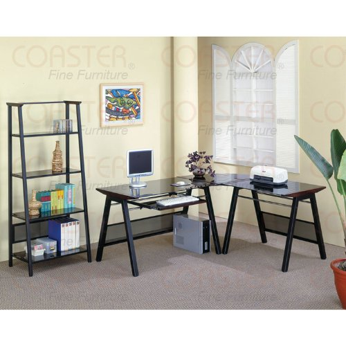 Buy Low Price Comfortable Metal and Wood Computer Desk (B003XRBXDU)