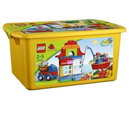Lego Duplo Briques - 10556 - Jouet de Premier Age - Maxi Baril - Jaune