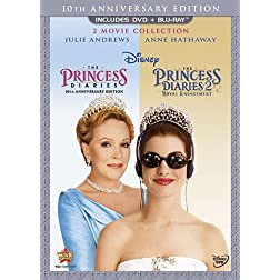 Princess Diaries: Two-Movie Collection (Three-Disc Combo Blu-ray/DVD Combo in DVD Packaging)
