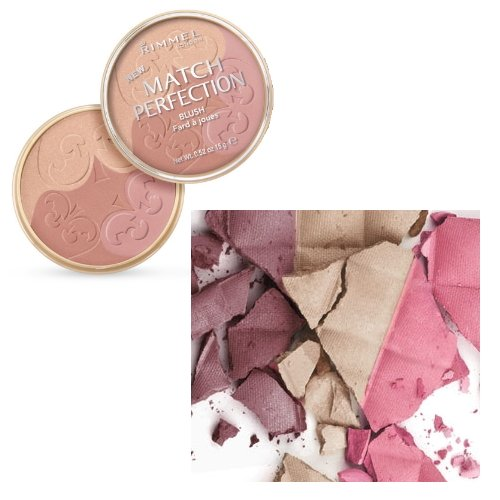 (3 Pack) RIMMEL LONDON Match Perfection Blush - Medium/Dark