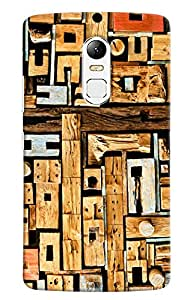 Omnam Pattern Made Of Woods Printed Designer Back Cover Case For Lenovo Vibe X3