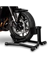 ConStands Béquille cale de roue moto avant Easy Black Suzuki Intruder M 1600