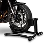 ConStands Motorcycle Paddock Stand Wheel Chock Easy Black Harley Davidson Sportster 883 Iron (XL 883 N)