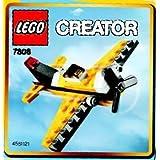 LEGO Creator Mini Figure Set #7808 Yellow Single Prop Bagged