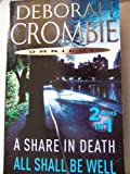 Deborah Crombie A Share in Death & All Shall Be Well-Omnibus