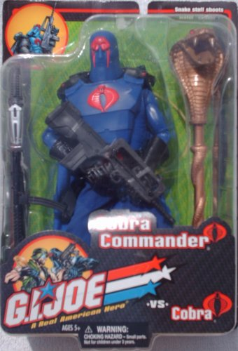 Picture of Hasbro 12 inch GI Joe Cobra Commander Action Figure (2001) (B00260T33C) (G.I. Joe Action Figures)