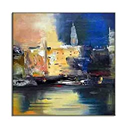 Modern Contemporary City Skylines Urban Art Picture HD Canvas Prints Stylish Young Decor Colorful New Paintings