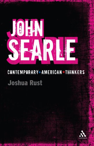 John Searle (Continuum Contemporary American Thinkers)