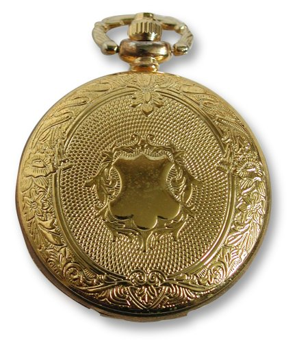 Philip Mercier Pocket Watch and Chain, Comes In Gift Box