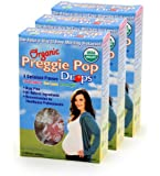 Three Lollies Organic Preggie Pop Drops for Morning Sickness Relief, 3 Count