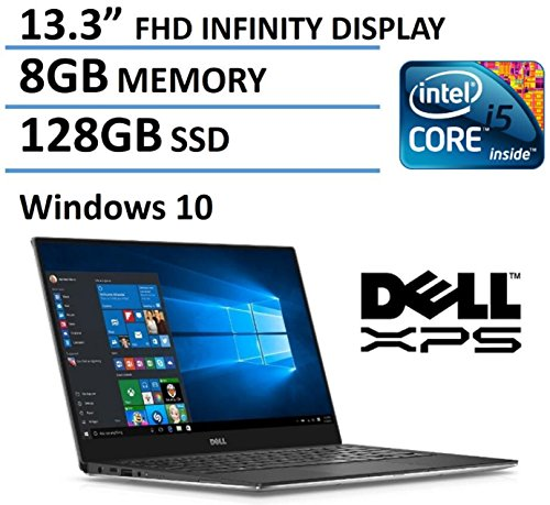 2016 Newest Dell XPS 13 High Performance Laptop with 13.3