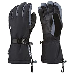 Columbia Men\'s Bugaboo Interchange Gloves, Black, Small