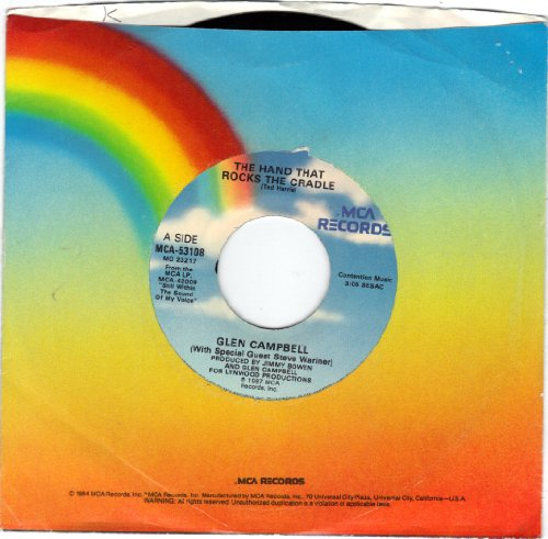 Campbell, Glen/Hand That Rocks The Cradle, The/45Rpm Record