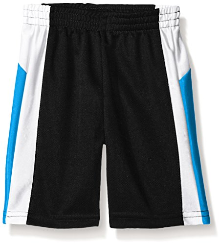 French Toast Big Boys Active Mesh Short, Black, 14