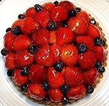 【フランス食堂 ウフ oeuf】 いちごとブルーベリーのタルト19cm