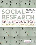 img - for Social Research: An Introduction book / textbook / text book