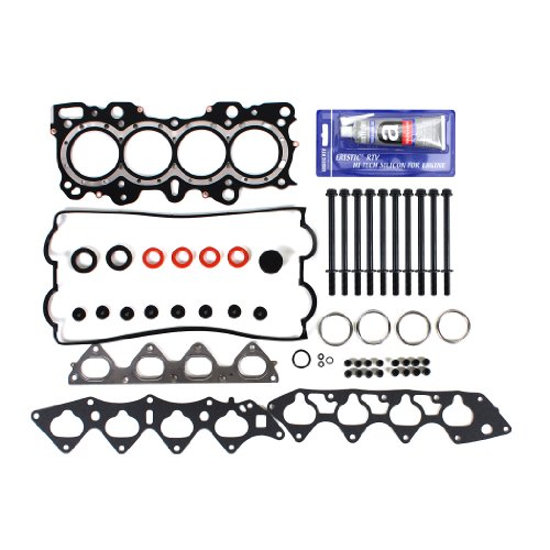 CNS EH616T1HBSI MLS Cylinder Head Gasket Set, RTV Gasket Silicone, and Head Bolt Kit for VTEC Acura Integra 1.8L GS-R TYPE-R B18C B18C1 B18C5 Engine (Integra Type R Engine compare prices)