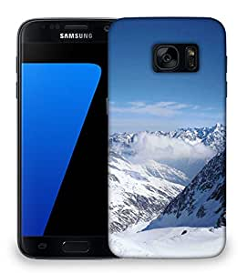 Snoogg Snow Area Designer Protective Phone Back Case Cover For Samsung Galaxy S7