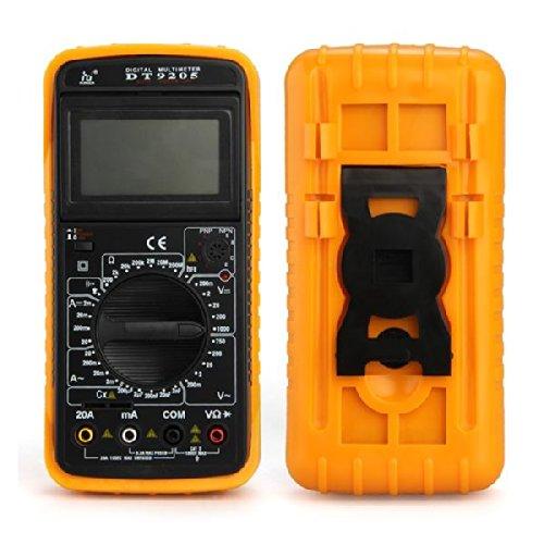 Dt9205 Digital Multimeter Ac Dc Lcd Display Voltmeter Ammeter