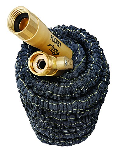 Pocket Hose Top Brass by BulbHead (50 ft)