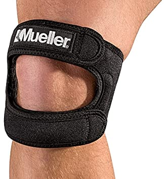 Mueller Max Knee Strap, Black, One Size