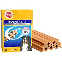 Pedigree Dentastix Large Breed Dog - Oral Care, 1.08 kg Monthly Pack (28 Sticks)