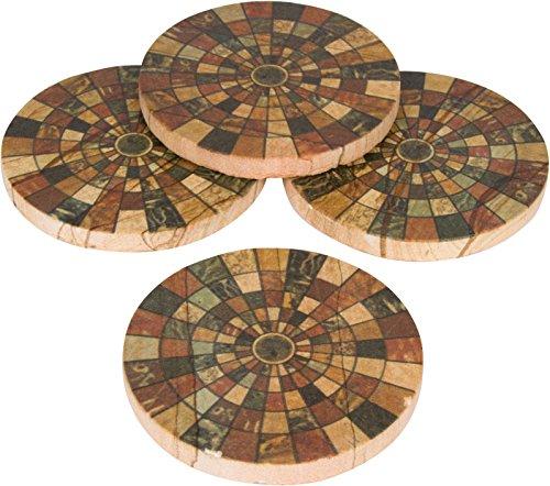 how to make mosaic tile coasters