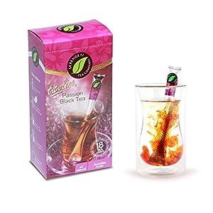 Serengeti Tea 2 Piece Passion Black Tea Box and Double Wall Cup Set