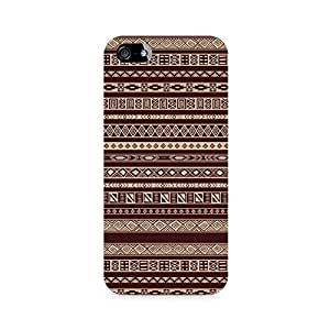 Ebby Brown Ribbon Premium Printed Case For Apple iPhone 4/4s