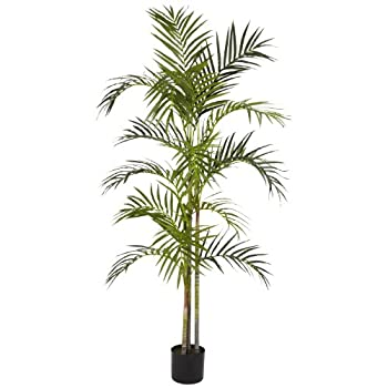 Nearly Natural 5315 Areca Palm Silk Tree, 5-Feet, Green