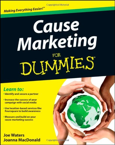 Cause Marketing For Dummies (For Dummies (Lifestyles Paperback))