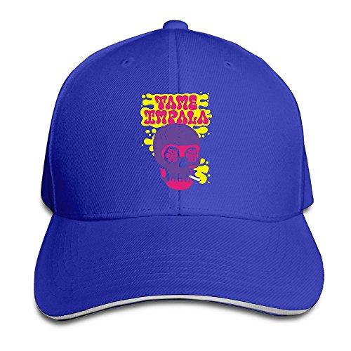 Doris Tame Band Skull Baseball Sandwich Cap RoyalBlue (Nfl Head Coach Ps3 compare prices)