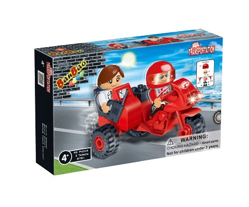 BanBao Double Motor Toy Building Set, 46-Piece