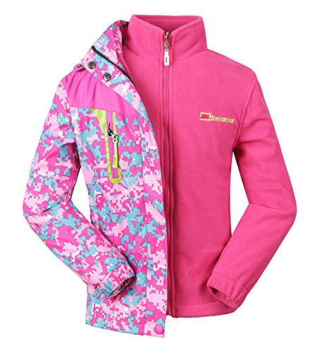Roseate-Girls-3-in-1-Jacket-with-Fleece-Liner-Outdoor-Winter-Outerwear-Pink