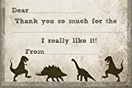 T-Rex Dinosaur Fill In Thank You Card…