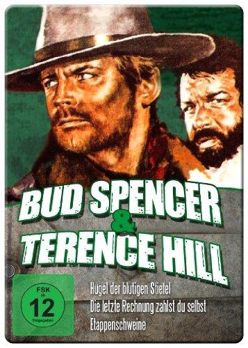 Bud Spencer & Terence Hill Edition - Vol. 2 (Hügel der blutigen Stiefel/Die letzte Rechnung zahlst du selbst/Etappenschweine) (Iron Edition)