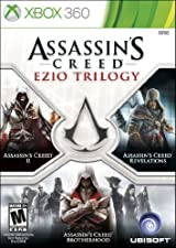 Assassin's Creed, Ezio Trilogy Edition,  XBox 360.