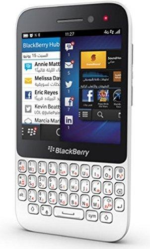Blackberry Q5 SQR100-2 4G LTE Unlocked International Stock No Warranty - BULK PACKAGING (WHITE)