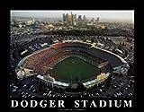 ドジャースタジアム - ロサンゼルス, カリフォルニア州 アートプリント by Smith, Mike 71 x 56センチメートル