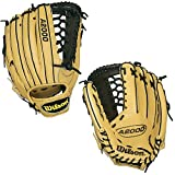 Wilson A2000 KP92-BL 12.5 Inch Adult Baseball Outfield Glove