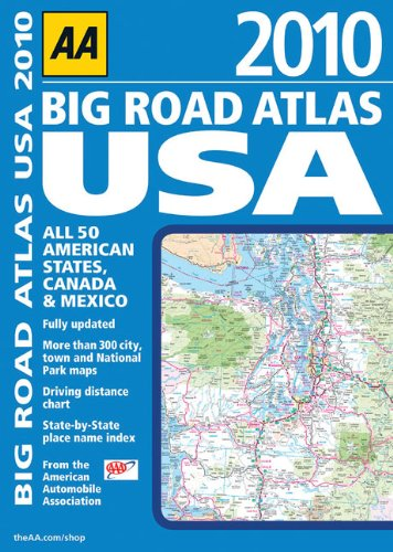 AA Big Road Atlas USA 2010 (Aa Road Atlas)