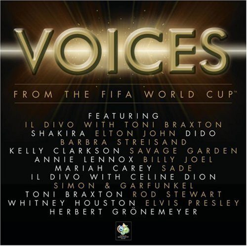 Il divo album voices from the fifa world cup for Il divo cd list