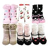 KF Baby - Calcetines - para beb� ni�a Multicolor Multicolor
